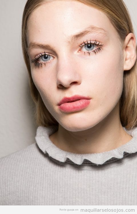 4 Tendencias maquillaje otoño 2017