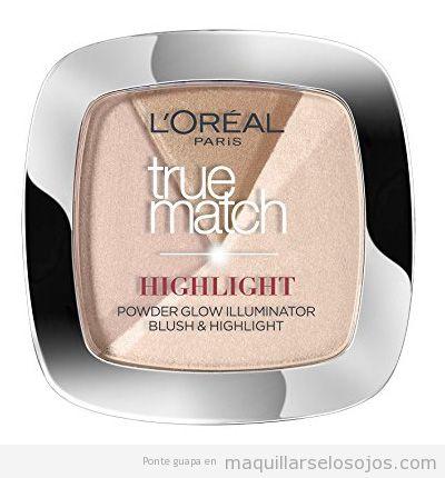 Comprar iluminador maquillaje l'Óreal barata