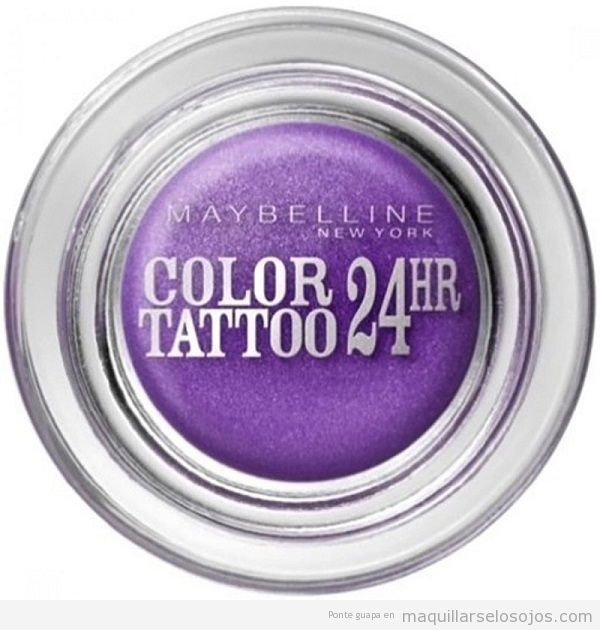 Sombra de ojos color tattoo marca Maybelline barata, outlet online