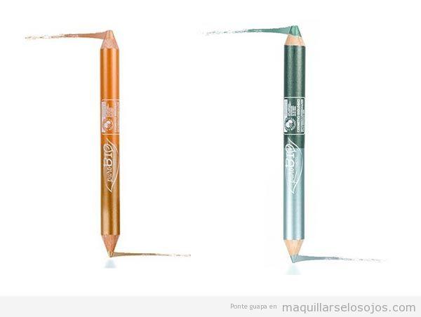 Delineador natural marca Purobio de colores