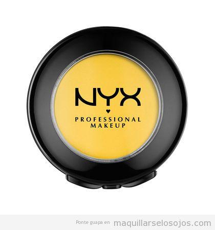 Sombra de ojos amarilla NYX