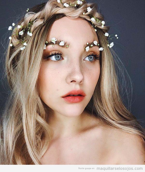 Cejas jardín tendencia maquillaje primavera 2018