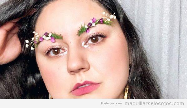 Cejas jardín tendencia maquillaje primavera 2018 2