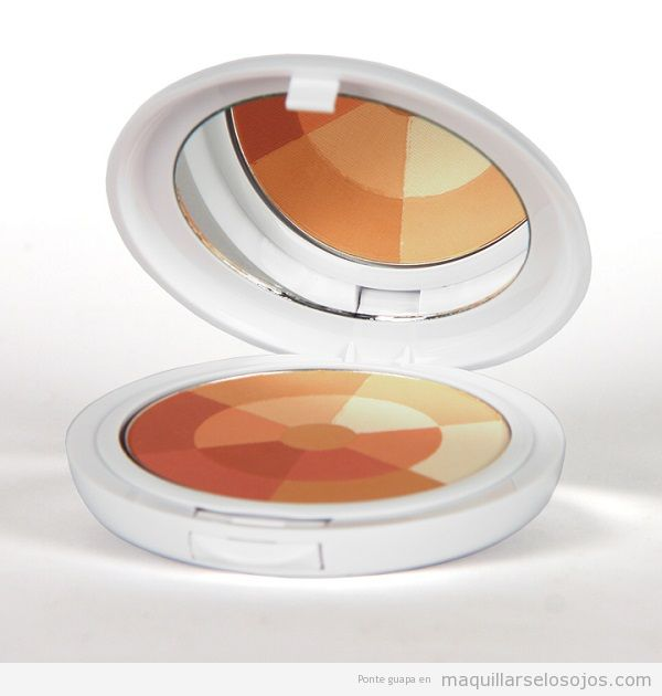 Polvos maquillaje para pieles sensibles