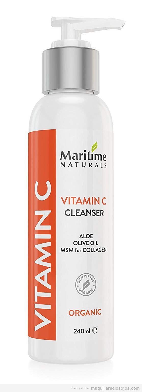 Limpiador facial vitamina C Natural Maritims