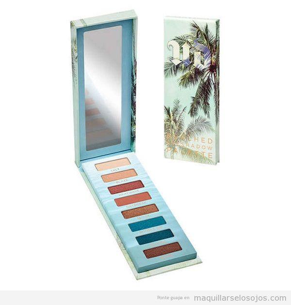 Mejores paletas de sombras de ojos para verano