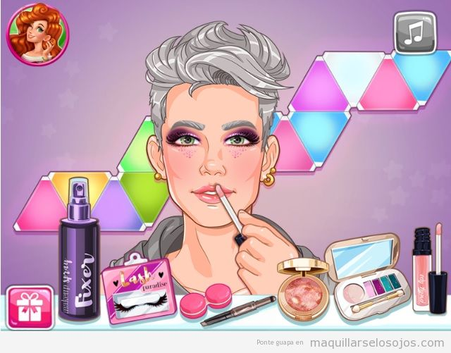 Juego maquillaje Beauty Guru Make Up Tips