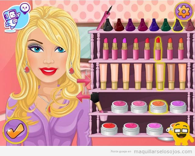 Juego maquillaje Extreme makeover