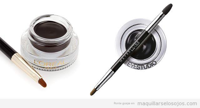 Mejores eyeliners gel