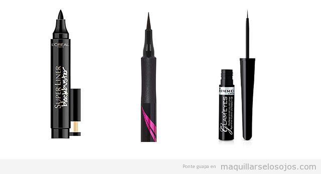 Mejores eyeliners líquidos