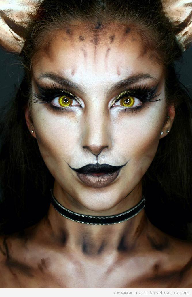 Maquillaje fantasía cervatilla