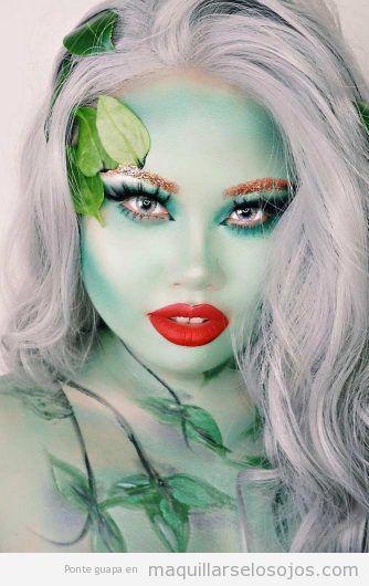 Maquillaje fantasía hada del bosque