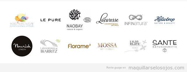 marcas cosmética natural