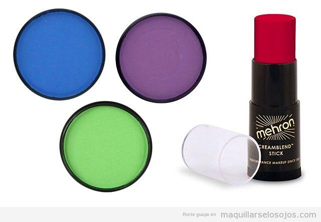 Maquillaje pintura facial carnaval calidad