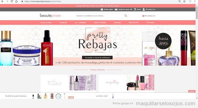 Consejos para ahorrar en compras online de maquillaje
