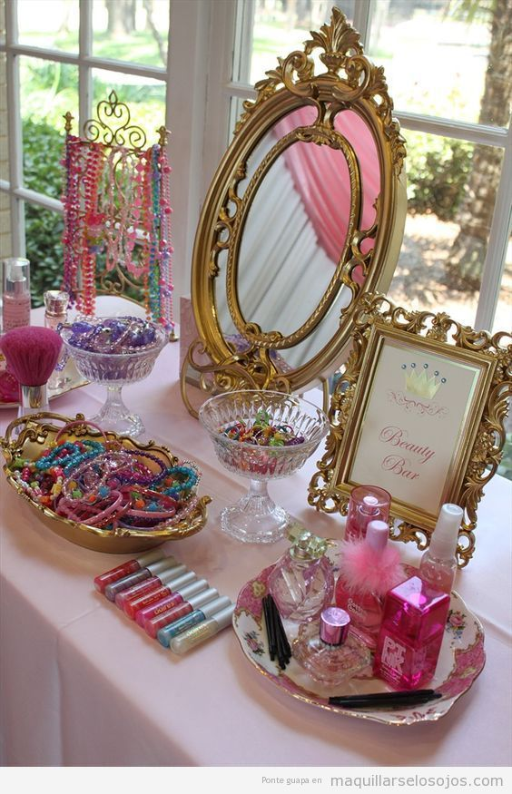 Ideas beauty party en casa, beauty bar