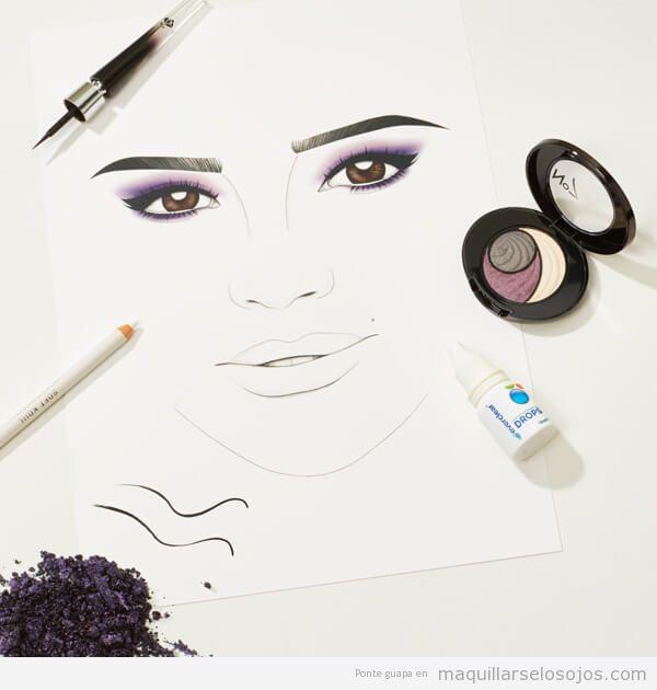 Maquillaje ojos ahumados Meghan Markle