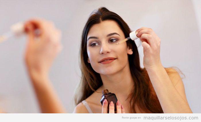 Cómo aplicar sérum facial