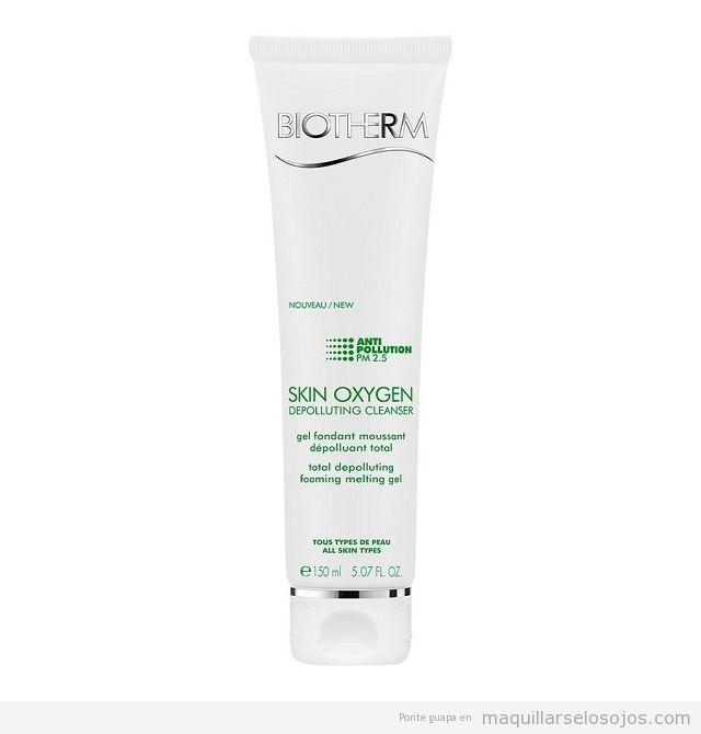 Biotherm Skin Oxygen Depolluting Cleanser Gel Limpiador Anti-Polución
