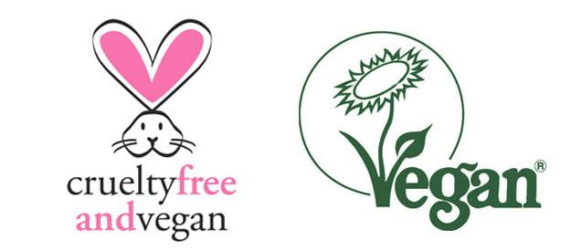 Sellos cruelty free y veganos