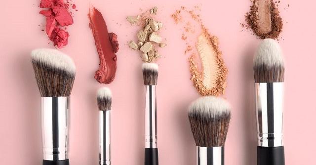 Maquillaje y pinceles veganos