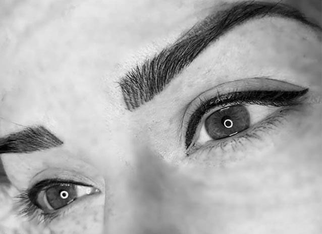 Micropigmentación de ojos, eyeliner