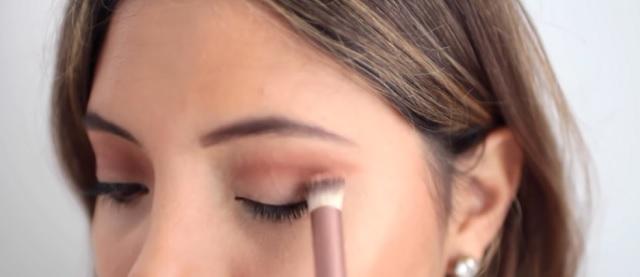 Pincel maquillaje de ojos angular