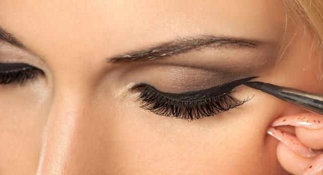 Pincel maquillaje de ojos perfilador