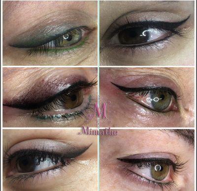 Micropigmentacion delineado de ojos