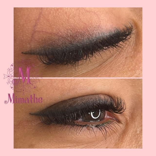 Micropigmentacion de ojos difuminados, fuzzy eyes