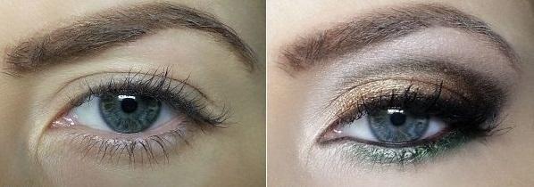 Maquillaje de ojos para disimular los párpados caídos